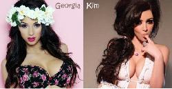 Georgia Salpa Vs. Kim Kardashian