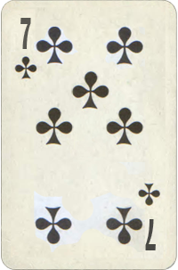 Seven Of Clubs Karma Card Free Destiny Cards Reading