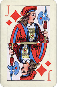 Jack Of Diamonds Birth Card Free Destiny Cards Reading
