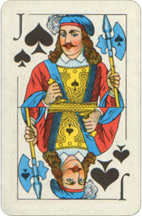 Jack of Spades Planetary Ruling Card  Free Destiny Cards