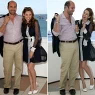 Kelly Brook and Billy Zane
