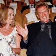 Melissa Mathison and Harrison Ford