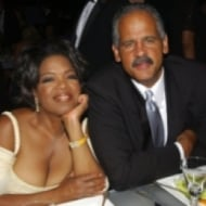 Oprah Winfrey and Stedman Graham