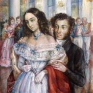 Natalia Goncharova Alexander Pushkin