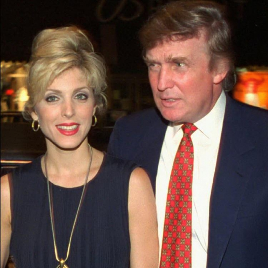 Donald Trump & Marla Maples