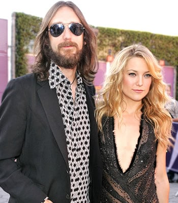 Chris Robinson and Kate Hudson. Love, Marriage, Divorce.
