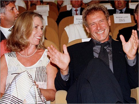 melissa mathison and harrison ford love marriage divorce