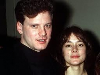 Colin Firth and Livia ...