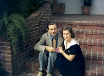 Walt Disney and Lillian Disney
