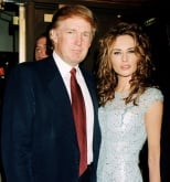 Melania Trump and Donald Trump