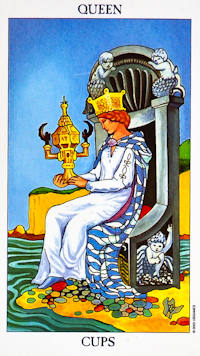 Queen Of Cups Tarot