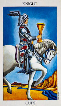 Knight Of Cups Tarot