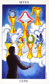 Seven Of Cups Tarot