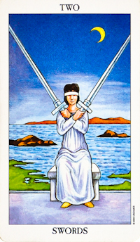 Two Of Swords Tarot