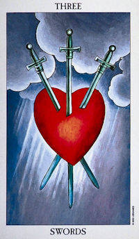 Three Of Swords Tarot