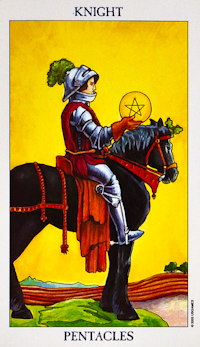 Knight Of Pentacles Tarot