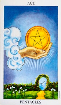 Ace Of Pentacles Tarot