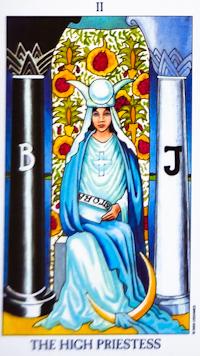 High Priestess Tarot