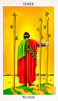Three of Wands Tarot