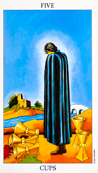 Five of Cups Tarot
