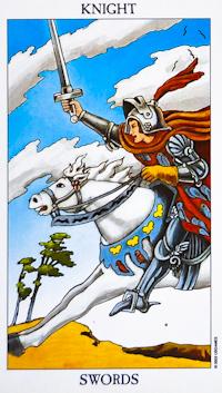Knight of Swords Tarot