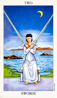 Two of Swords Tarot
