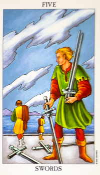 Five of Swords Tarot
