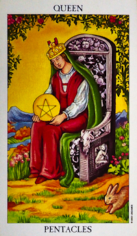 Queen of Pentacles Tarot