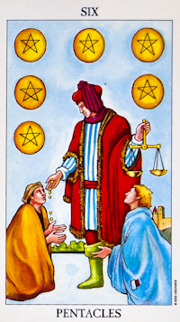 five of pentacles and eight wands relationship