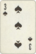 Three of Spades