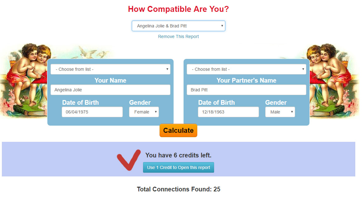 How to Use Love Compatibility Credits