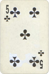 Five of Clubs