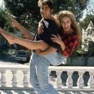 George Clooney and Kelly Preston