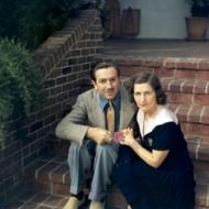 Lillian Disney & Walt Disney
