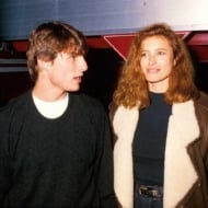 Tom Cruise and Mimi Rogers