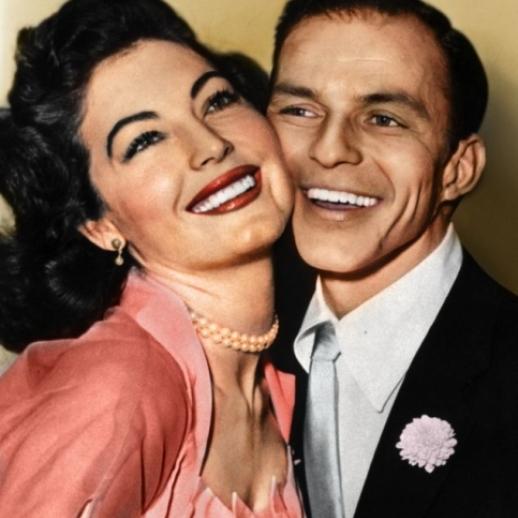 Ava Gardner & Frank Sinatra