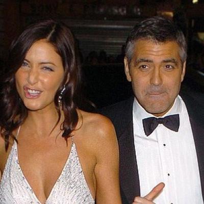 George Clooney & Lisa Snowdon