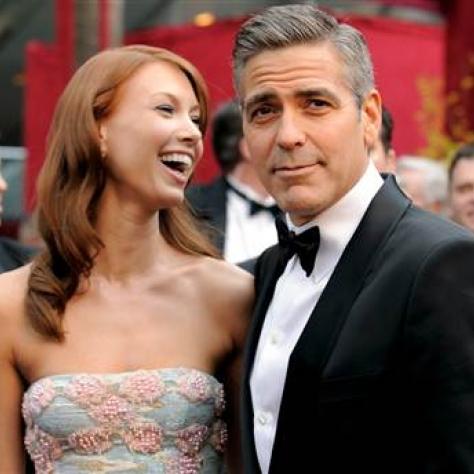 George Clooney & Sarah Larson