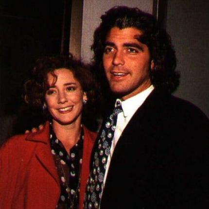 George Clooney & Talia Balsam