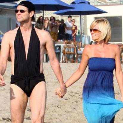 Jenny McCarthy & Jim Carrey