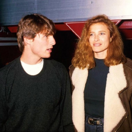 Mimi Rogers & Tom Cruise