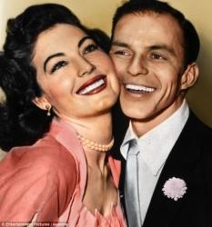 Ava Gardner and Frank Sinatra