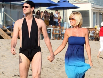 Jenny McCarthy and Jim Carrey
