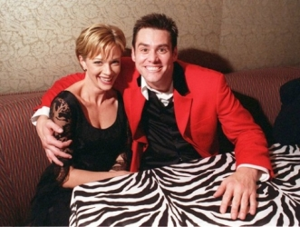 Lauren Holly and Jim Carrey