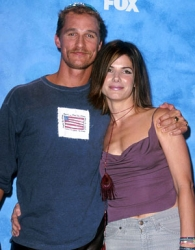 Matthew Mcconaughey and Sandra Bullock