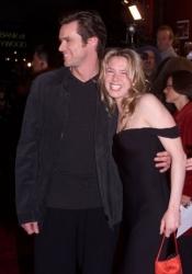 Renee Zellweger and Jim Carrey