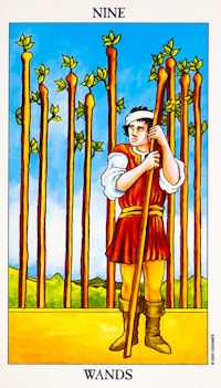 Nine Of Wands Tarot