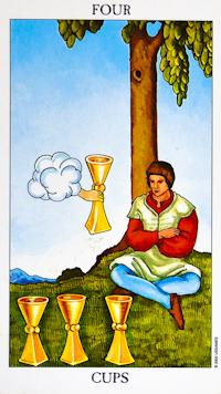 Four Of Cups Tarot