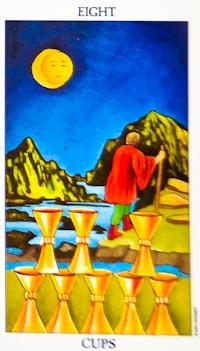 Eight Of Cups Tarot