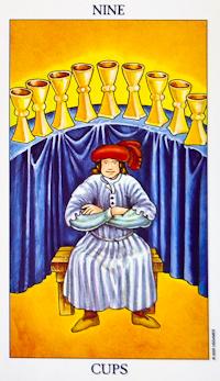 Nine Of Cups Tarot